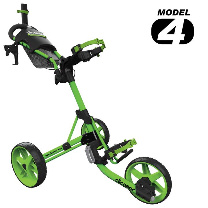 Clicgear - 4.0 Cart - Matt Lime